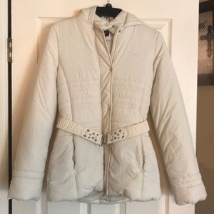 Like new Girls Guess Jacket (off white)